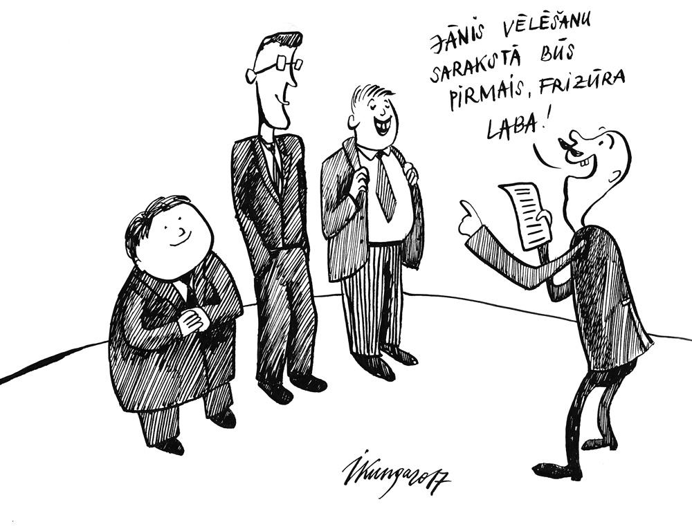 02-02-2017 — Politiķi veido vēlēšanu sarakstus.