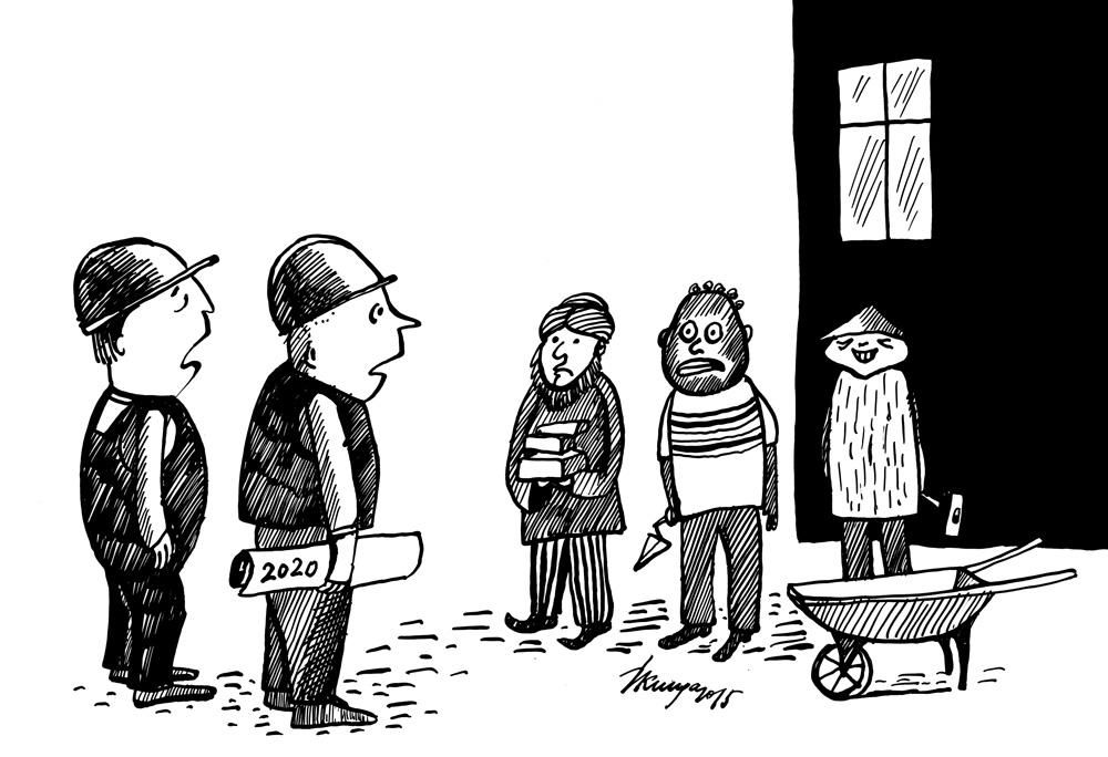 02-04-2015 - kur vietējie strādnieki? - aizbraukuši, mums nekas cits neatlika, kā piesaistīt darbaspēku no ārzemēm!