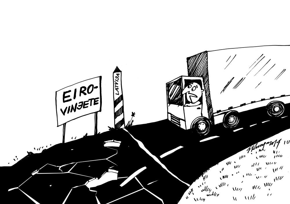 03-07-2014 - Eirovinjete - kur lai te nopērku un priekš tādiem ceļiem?