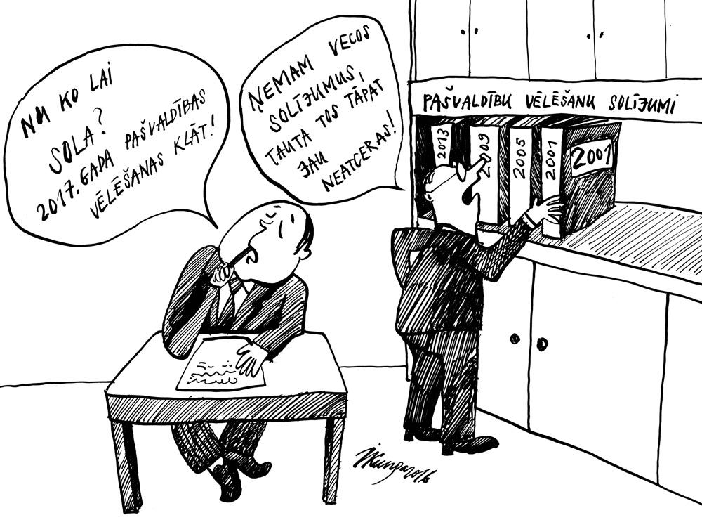 03-10-2016 — Pašvaldību vēlēšanas tuvojas.
