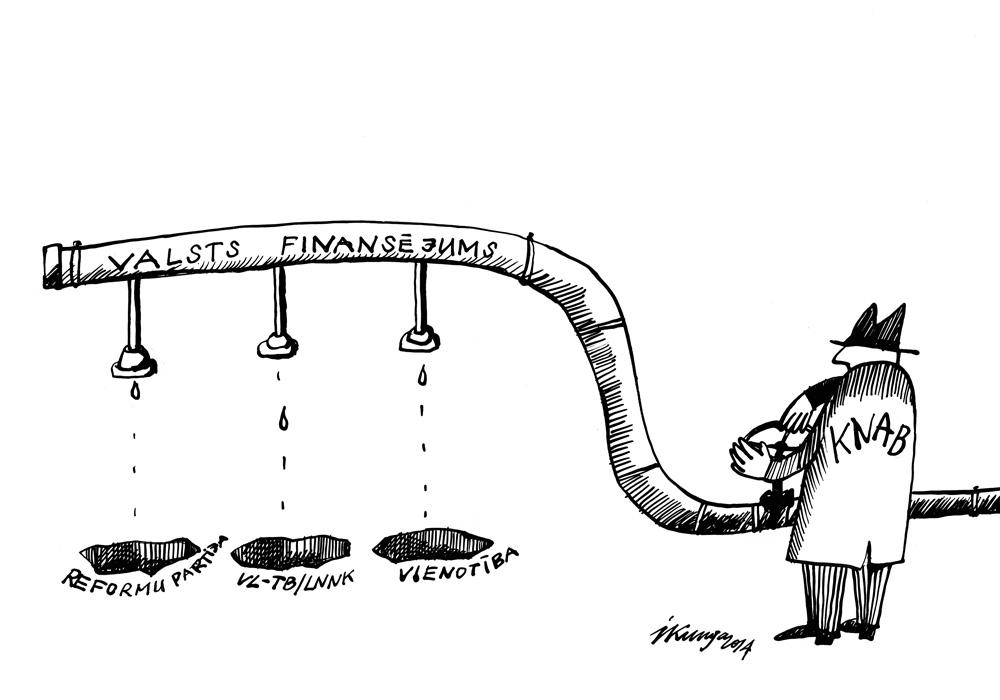 04-09-2014 - Valsts finansējuma apturēšana draud vēl trīs varas partijām.