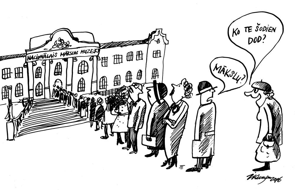 05-05-2016 — Pēc renovācijas tika atklāts Latvijas Nacionālais mākslas muzejs.