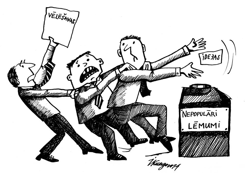 05-06-2014 - Nebojā savu deputātu reputāciju ar nepopulāriem lēmumiem, nāk tak vēlēšanas!!
