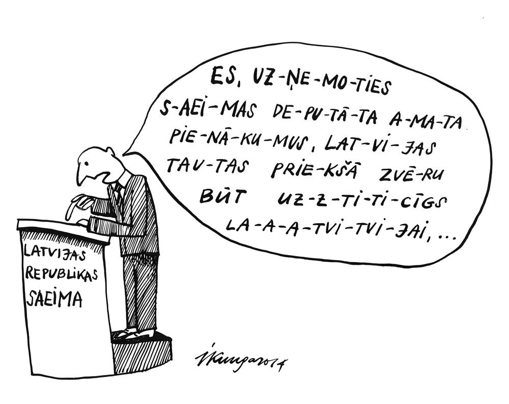 05-11-2014 — Lasīšanas prasme jaunajiem deputātiem.