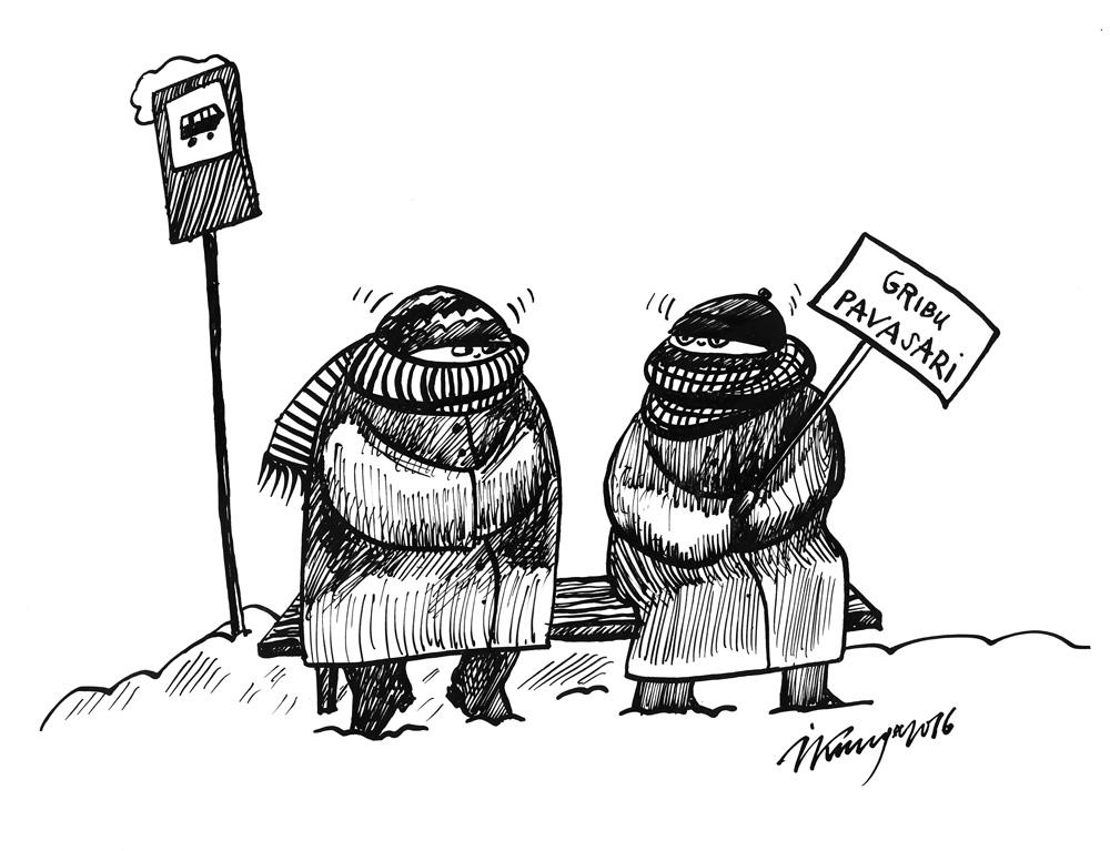 06-01-2016 — Komunikācija aukstā ziemā!