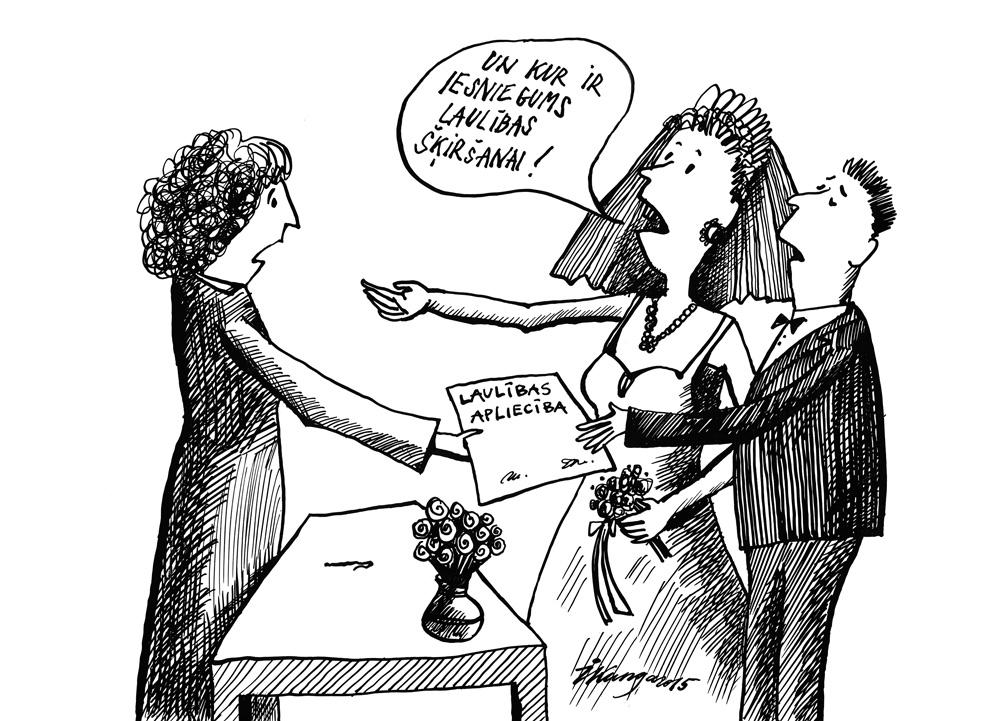 06-05-2015 — Latvija ir rekordiste šķirto laulību ziņā Eiropā!