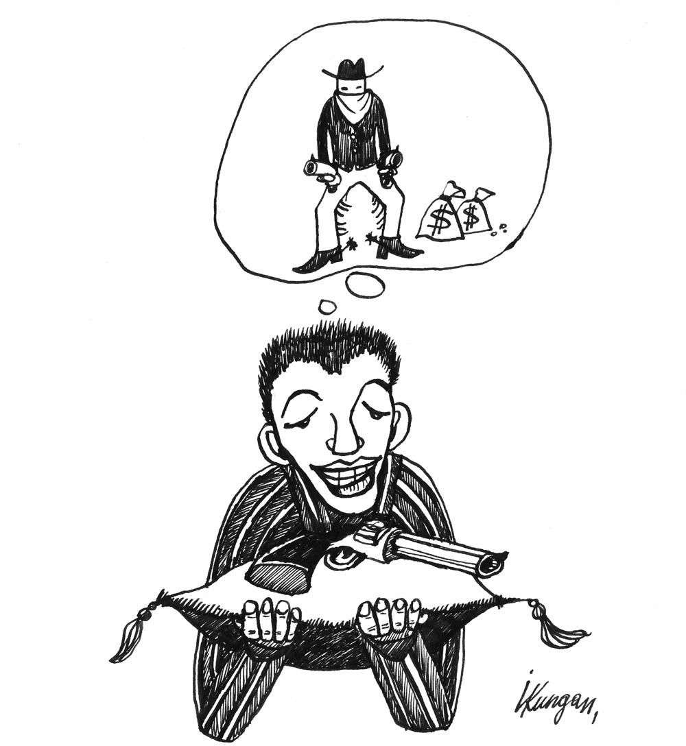 07-01-2011-1 Valsts dāvinot ieroci ir daļēji piepildījusi bijušā ministra Repšes bērnības sapni.