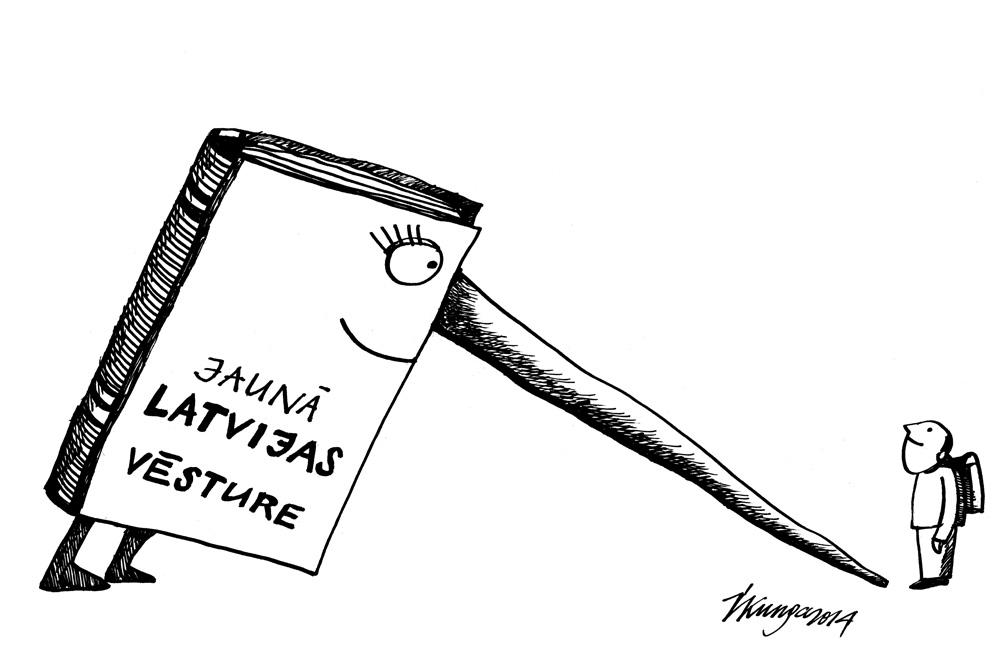 07-04-2014 Nepareizi aprakstīta Latvijas vēsture mācību grāmatās. Kas šo vēsturi raksta?