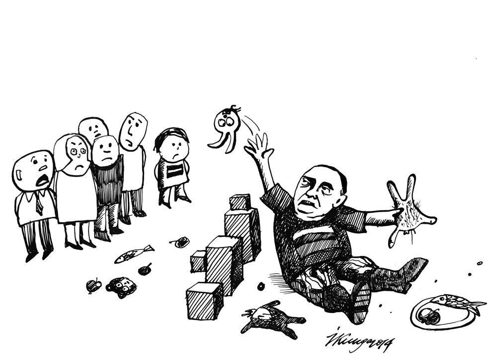 07-07-2014 - Skat, Putins sācis atbildēt ar sankcijām pret mums!