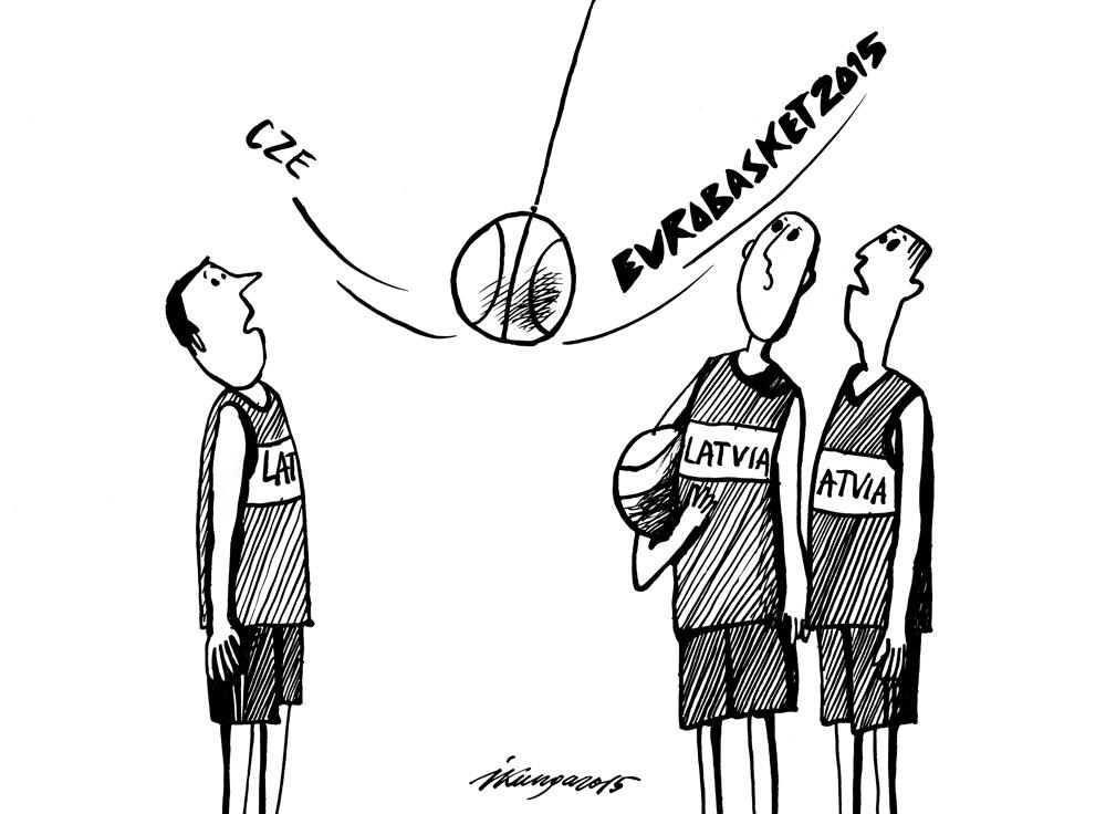 07-09-2015 - Latviešiem basketbolā ir nākamā spēle - jākoncentrējas.