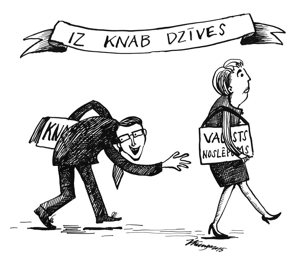 08-04-2015 Atkal iz KNAB dzīves. — KNAB mēģina anulēt KNAB darbinieces Jutas Strīķes pielaidi valsts noslēpumam.