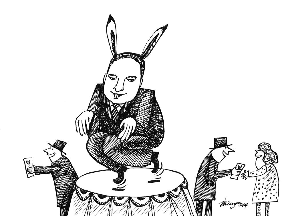 08-10-2014 — Atbalstiet Zaķi, lai tas varētu dejot Saeimā!
