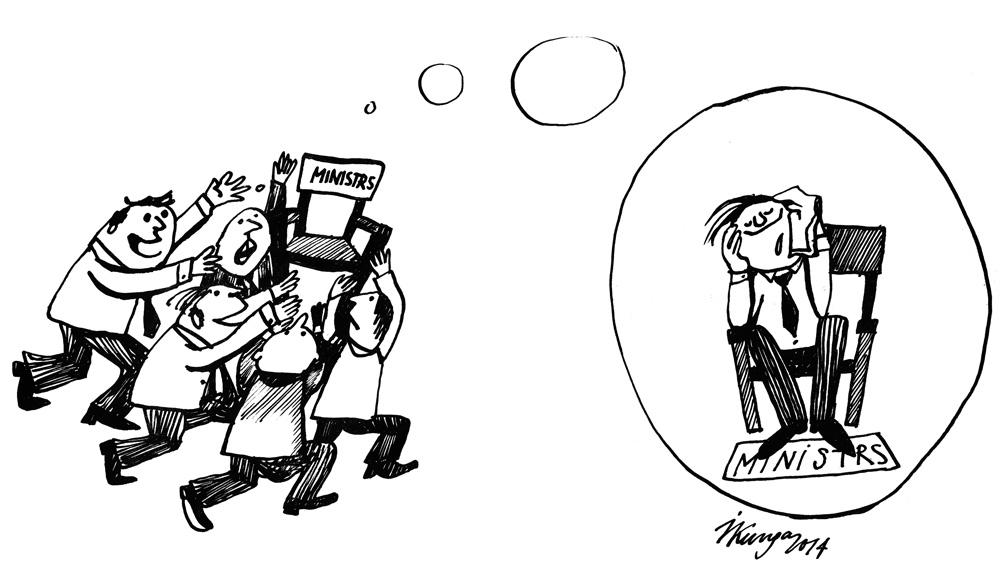 09-01-2014 Ir sācies smagākais partiju darbs - cīņa par ministru amatiem.