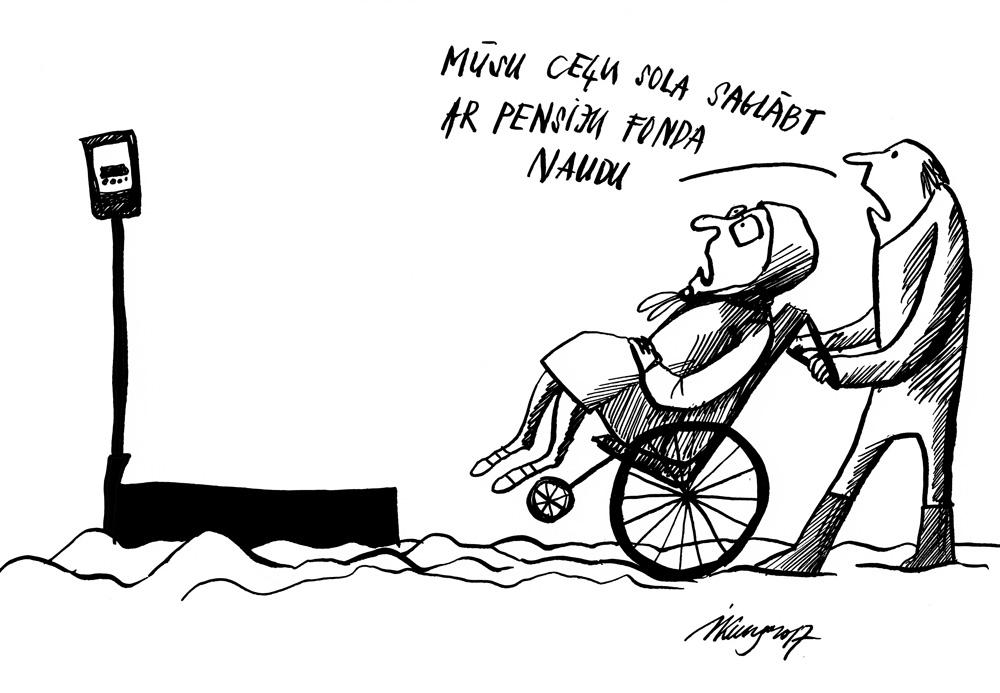 09-03-2017 — Pensionāriem jāglābj Latvijas ceļi!