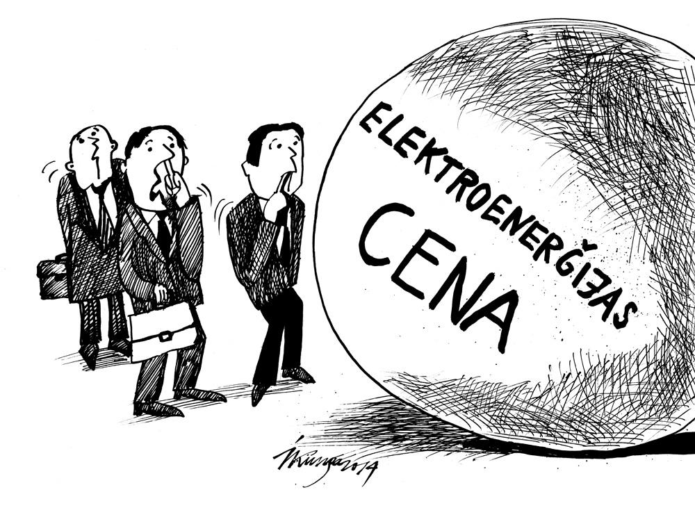 10-02-2014 Politiķi nezinīši: — Un tā sadārdzinās eletrības cena brīvajā tirgū?