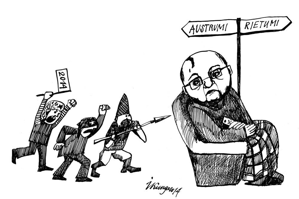 10-04-2014 - Krievijā deputātu grupa sadomājusi tiesāt Gorbačovu par Baltijas brīvlaišanu.