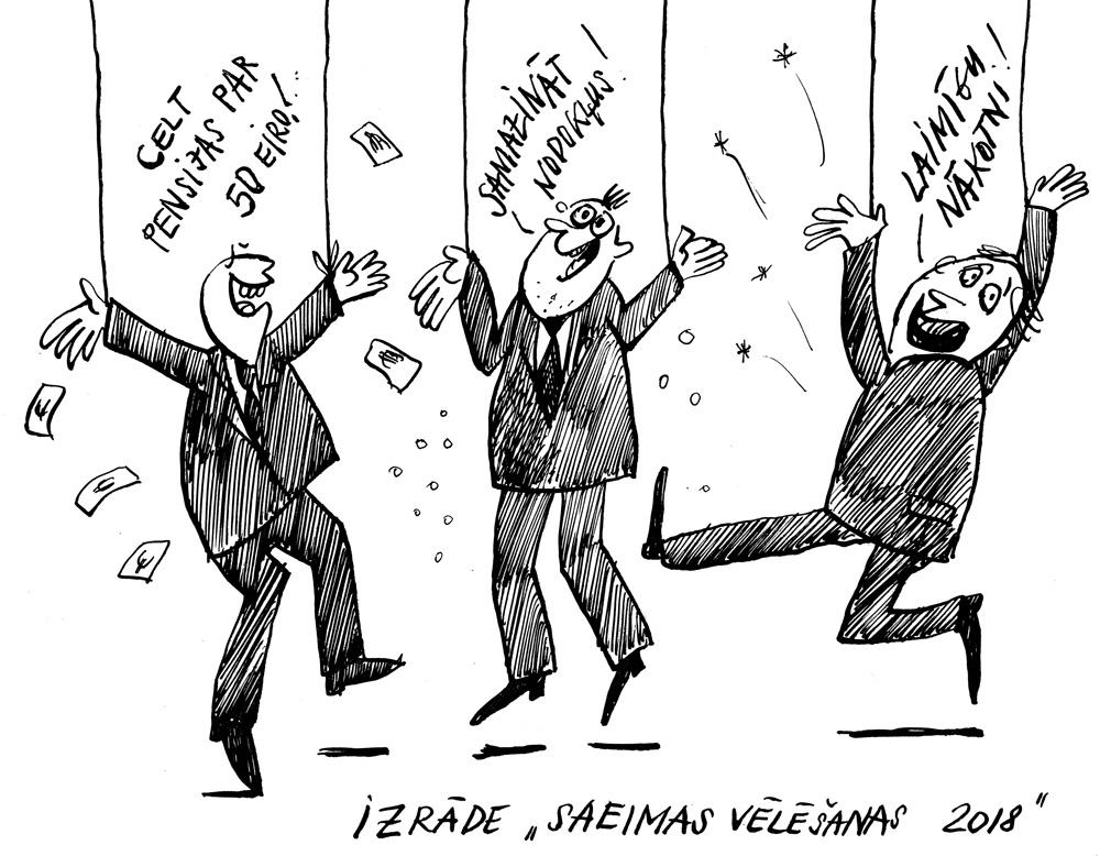 """10-09-2018 Ar panākumiem bagāta šī gada visgarākā izrāde """"Saeimas vēlēšanas 2018"""" turpinās."""