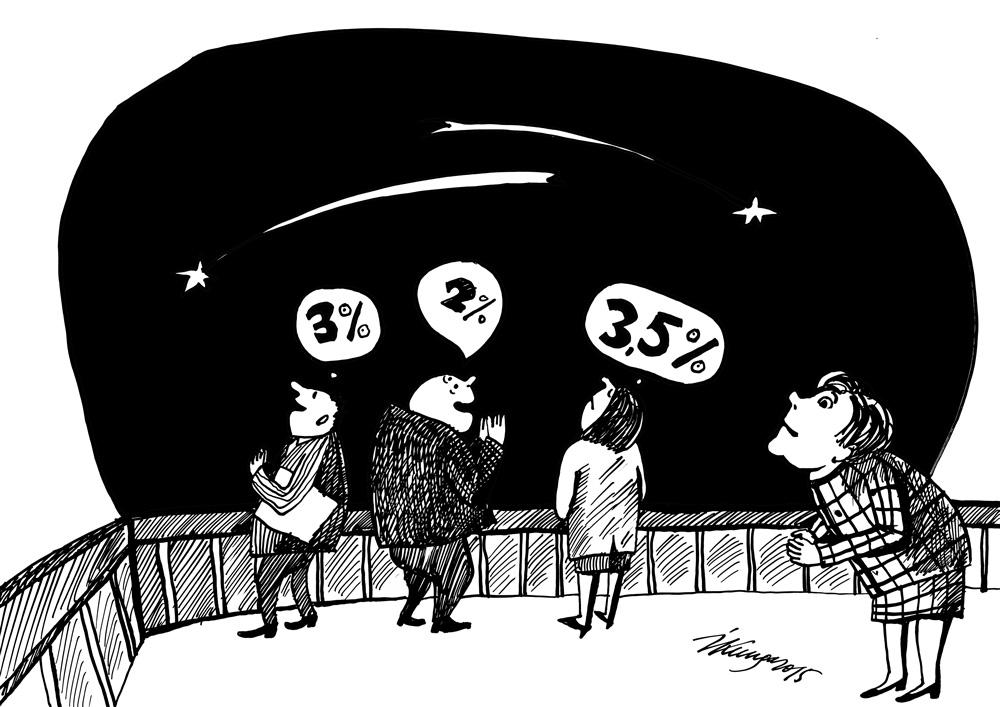 12-08-2015 — Nākamā gada budžets — katrs ministrs, skatoties krītošās zvaigznēs, kaut ko vēlas.