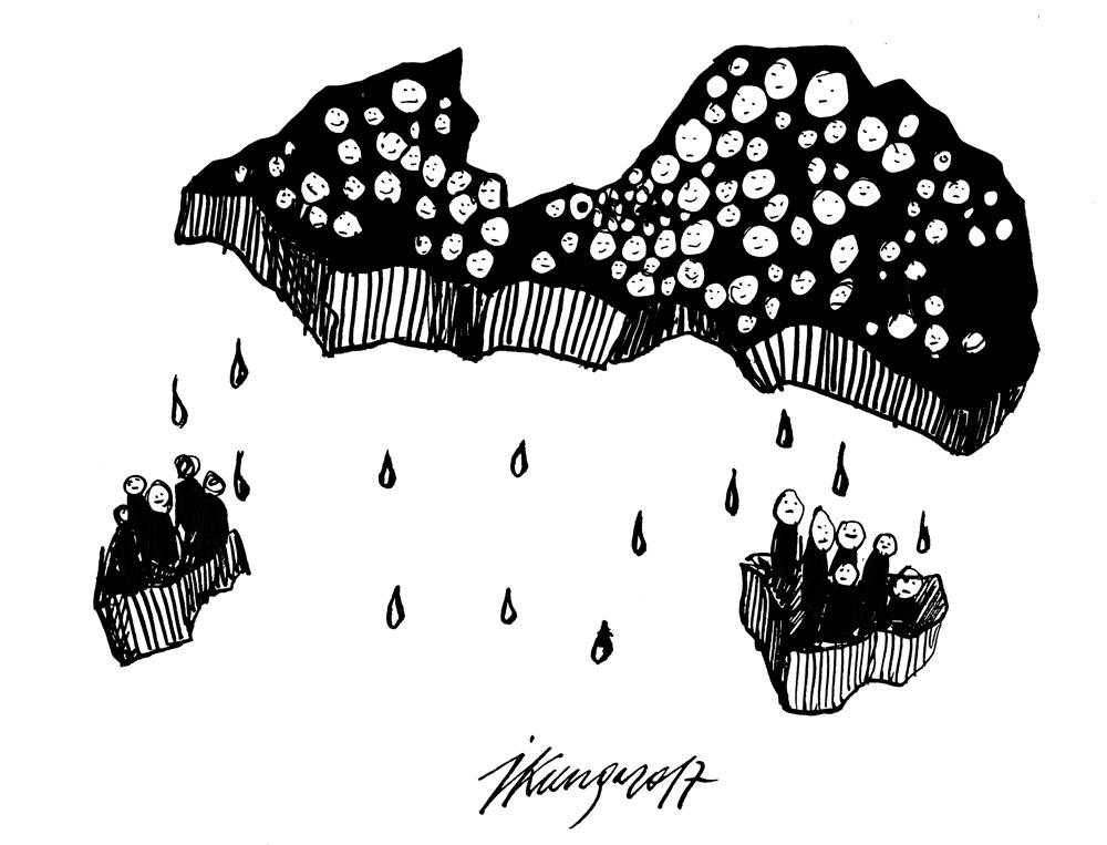 12-10-2017 Kopš 2010. gada Latviju pametuši 170 000 cilvēku — proporcionāli aizbraukušas divas pilsētas — Liepāja un Daugavpils.