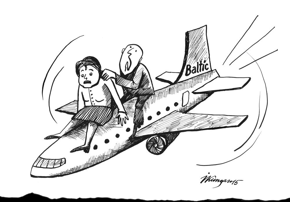 12-11-2015 - AirBaltic šūpo Latvijas valdību