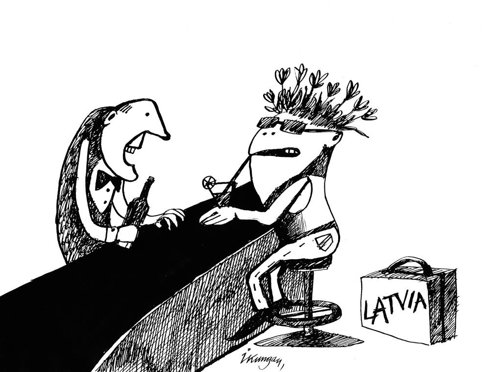 13-04-2011 — Pavasari, jūs nokavēsiet ceļojumu uz Latviju! — Nav drosmes, jo tur var mani aplikt ar nodokļiem!
