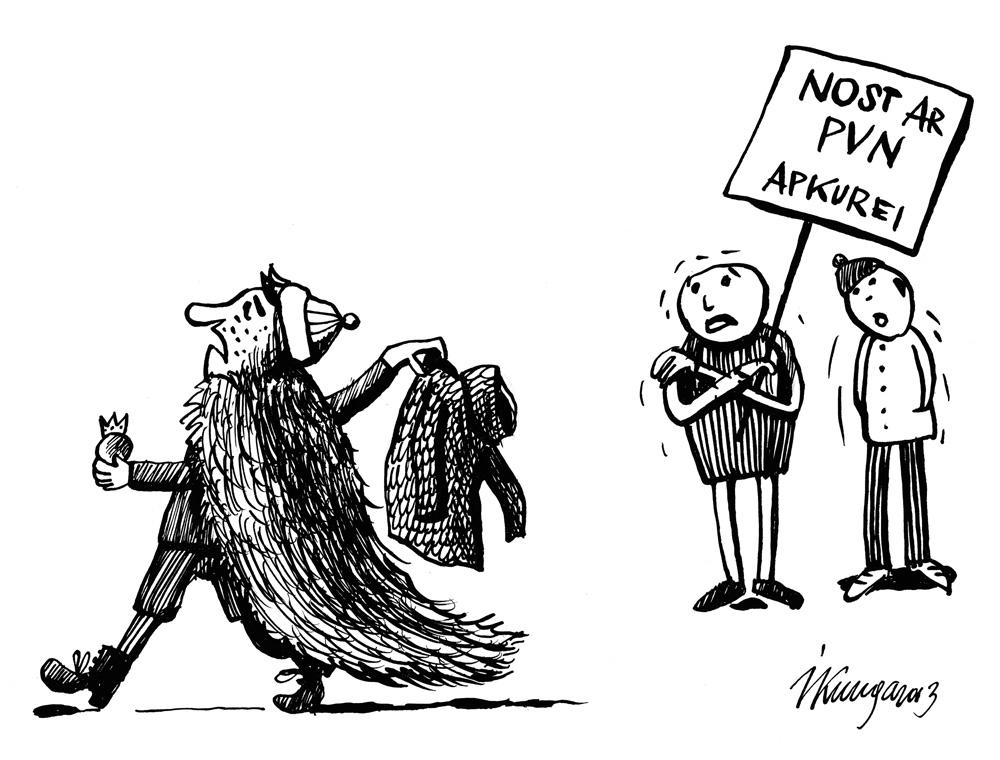 14-02-2013 Ministra Sprūdža kungs: - PVN neko neizmainīs, vajag siltināt!