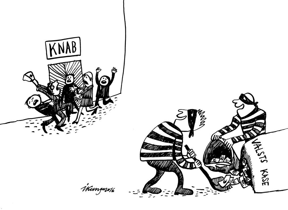 14-07-2016 — Nu var zagt, cik uziet, KNAB koncentrējies uz savām iekšējām problēmām.