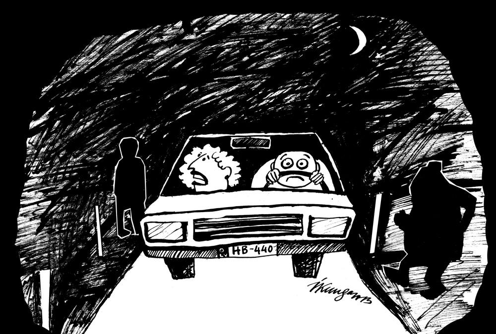 14_10_2013 — Mīļais, uzmanies, sācies neredzamo gājēju laiks!
