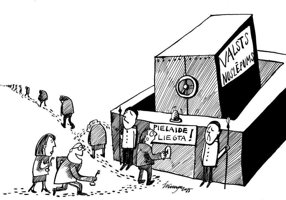 15-02-2015 — Arvien vairāk ir politiķu, kuriem nedod pielaidi valsts noslēpumam.