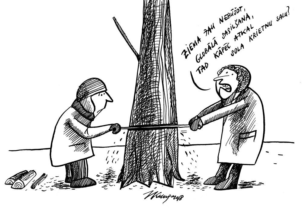 15-03-2018 - Latvijā atgriežas ziema!