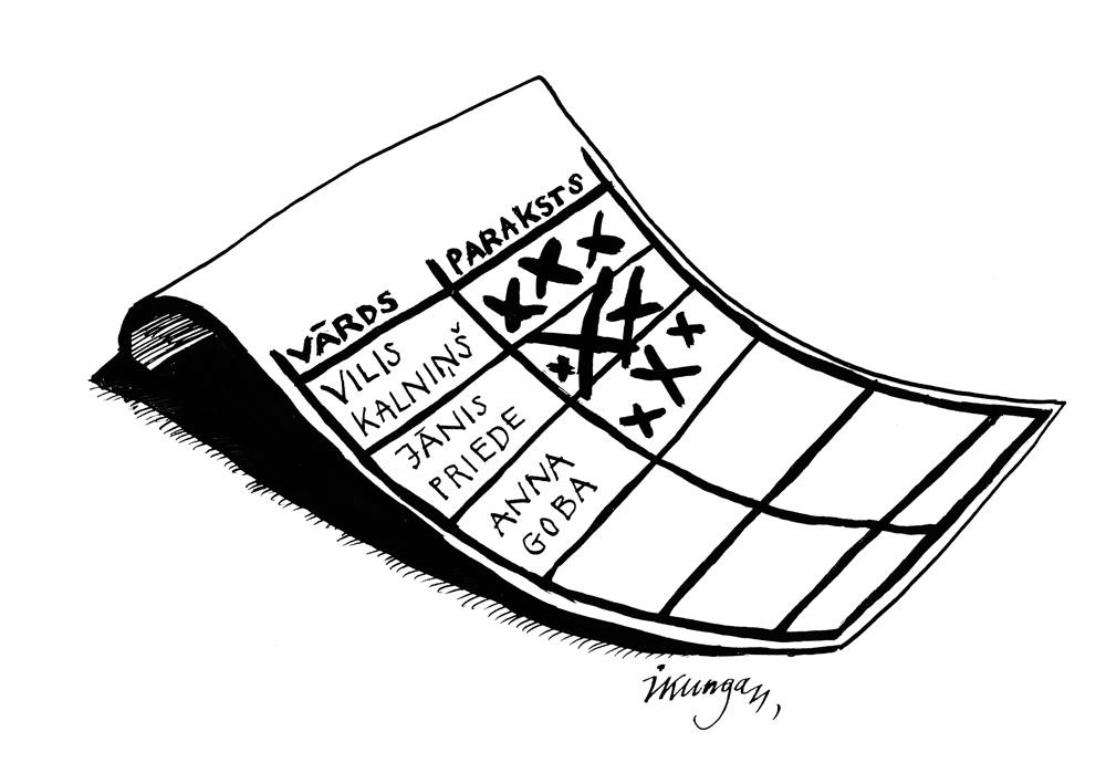 15-04-2011 — Analfabētisms jeb tuvākā nākotnē latvieši parakstīsies šādi.