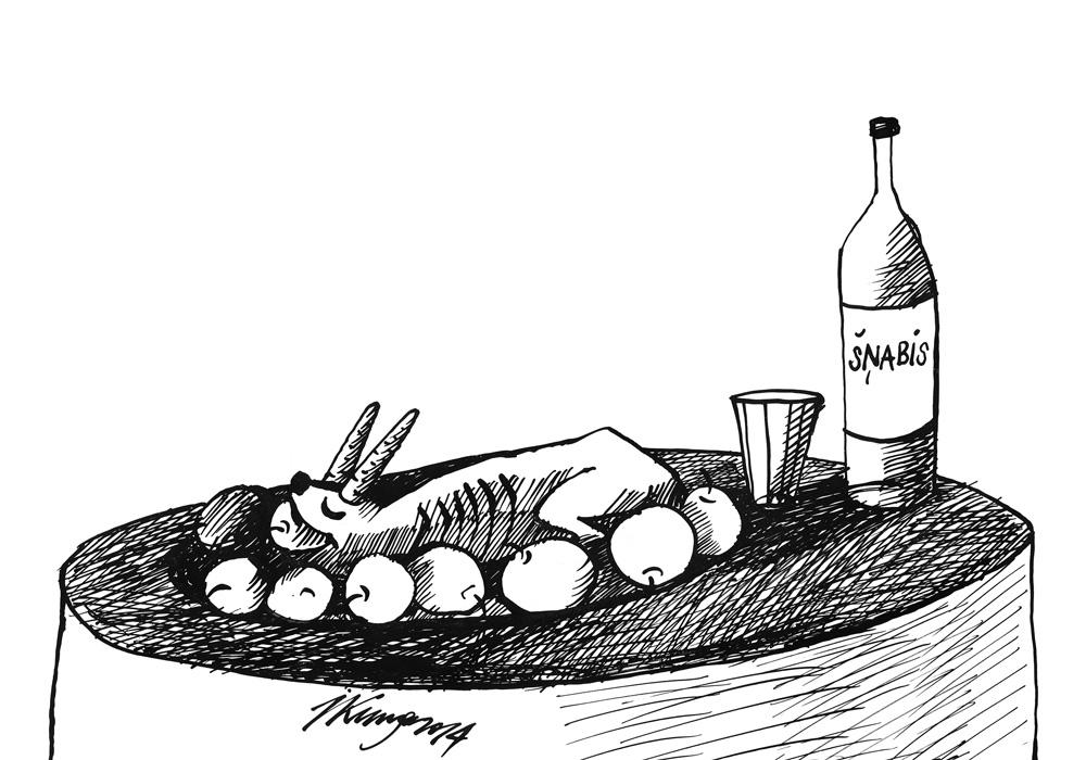 """15-10-2014 — """"Zaķa cepetis ar šņabi"""" jeb """"Zaķa politiskā karjera """"Vienotībā"""" ir beigusies""""."""