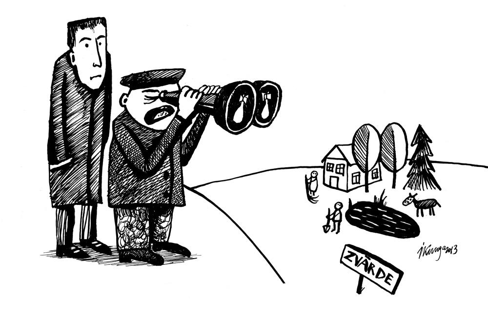 16-01-2013 — Pabrika kungs, es redzu tikai mīnētus laukus un poligona bīstamās paliekas!