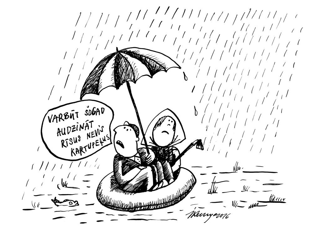 16-05-2016 — Gaidāma lietaina vasara.