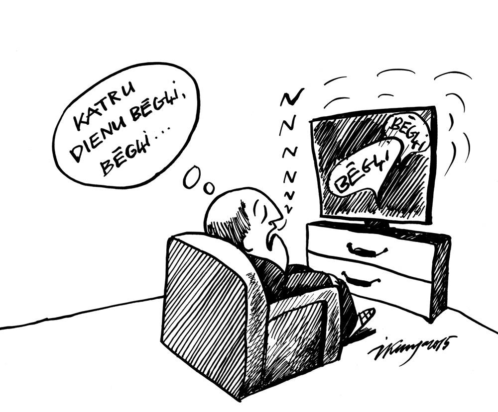 17-09-2015 — Kamēr vēl par bēgļiem Latvijā nav vēl izlemts.