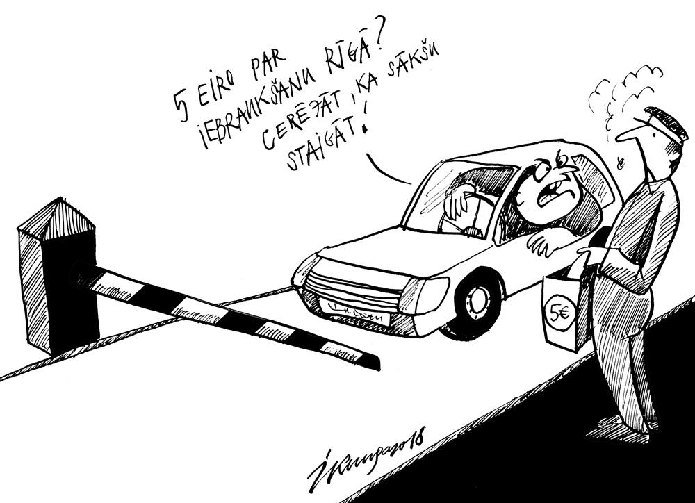 17-09-2018 Jauni plāni par iebraukšanu Rīgas centrā.
