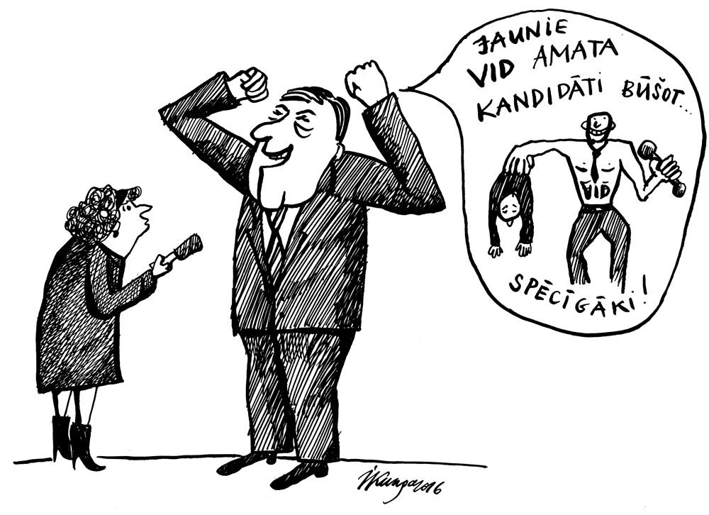 17-10-2016 — Kučinska VID priekšnieka kandidāti.