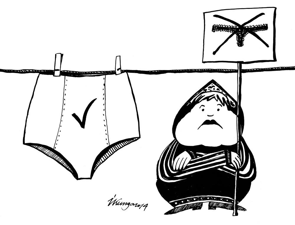 19-02-2014 Krievija ir aizliegusi ražot, ievest un pārdot mežģīņu apakšbiksītes.