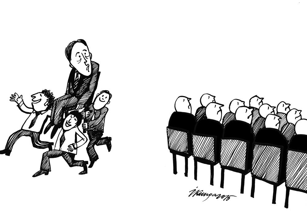 19-02-2015 - Prezidentam Bērziņam jaunai ievēlēšanai nav nepieciešamais atbalsts.