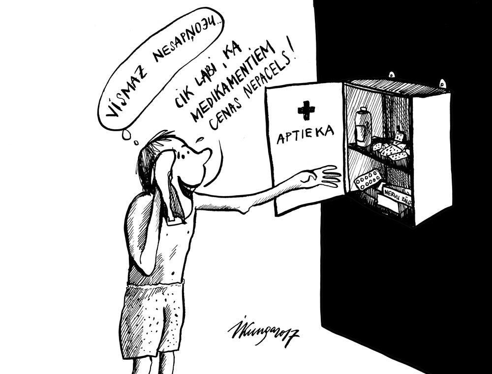 19-04-2017 — Izlemts! PVN medikamentiem tomēr nepalielinās!