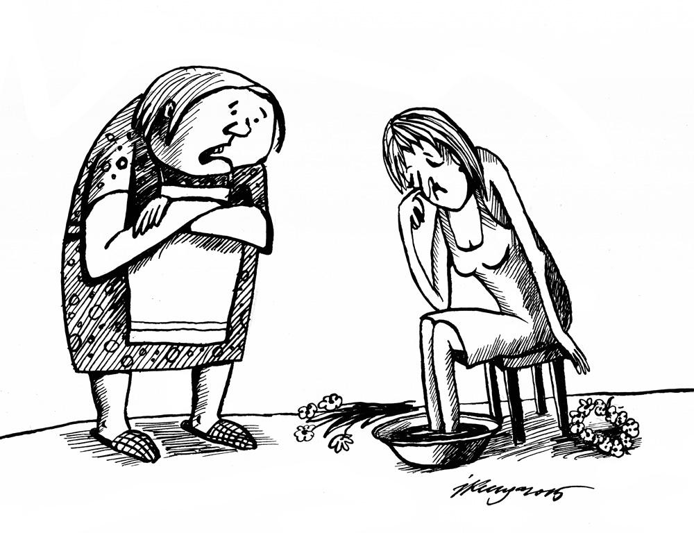 19-06-2015 - mīļā meitiņ, pēc svētkiem ir tāpat kā pirms, brūtgāna neviena!