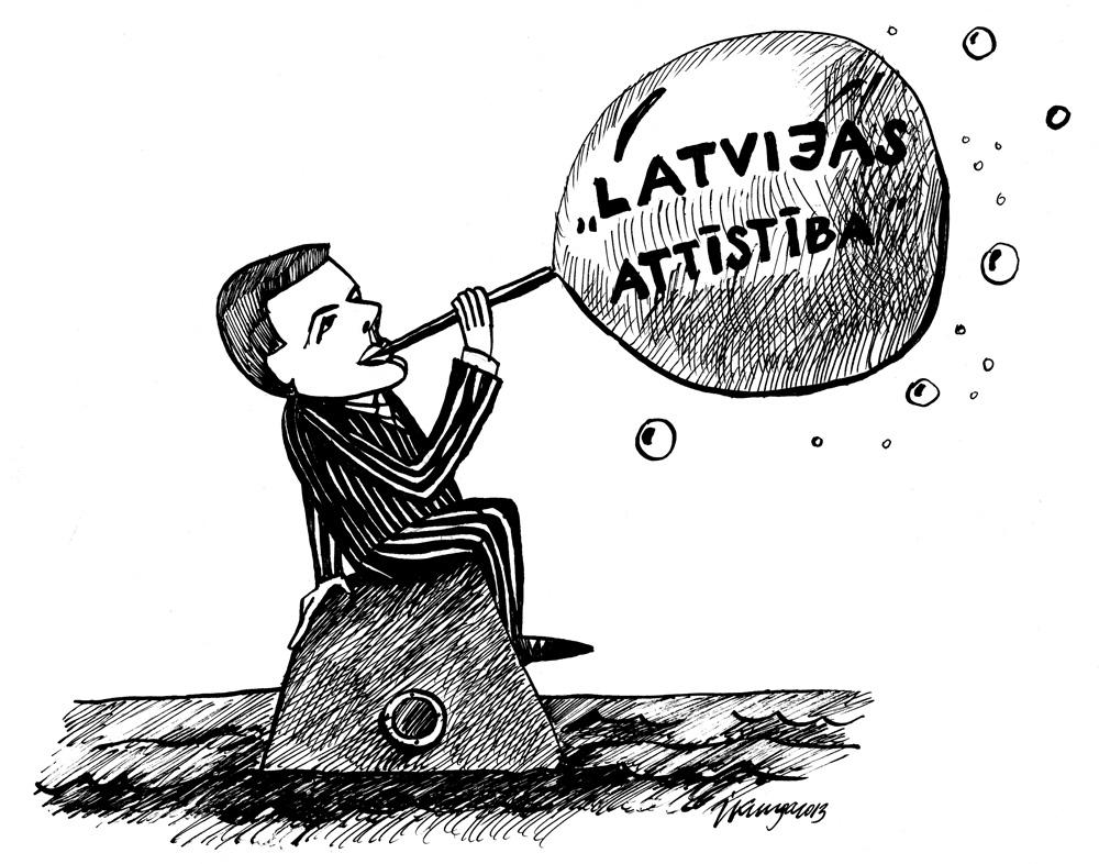 20-03-2013 ir atgriezies Latvijas attīstītājs - Repše