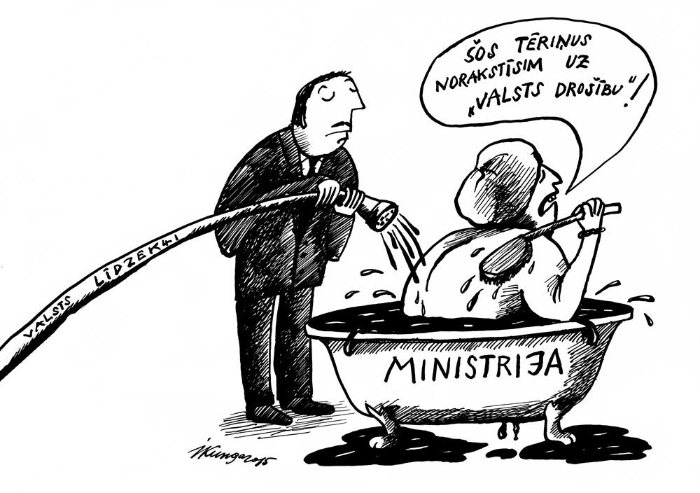 20-04-2015 — Ministrijas jau ir aizmirsušas, ka jādzīvo taupīgi.