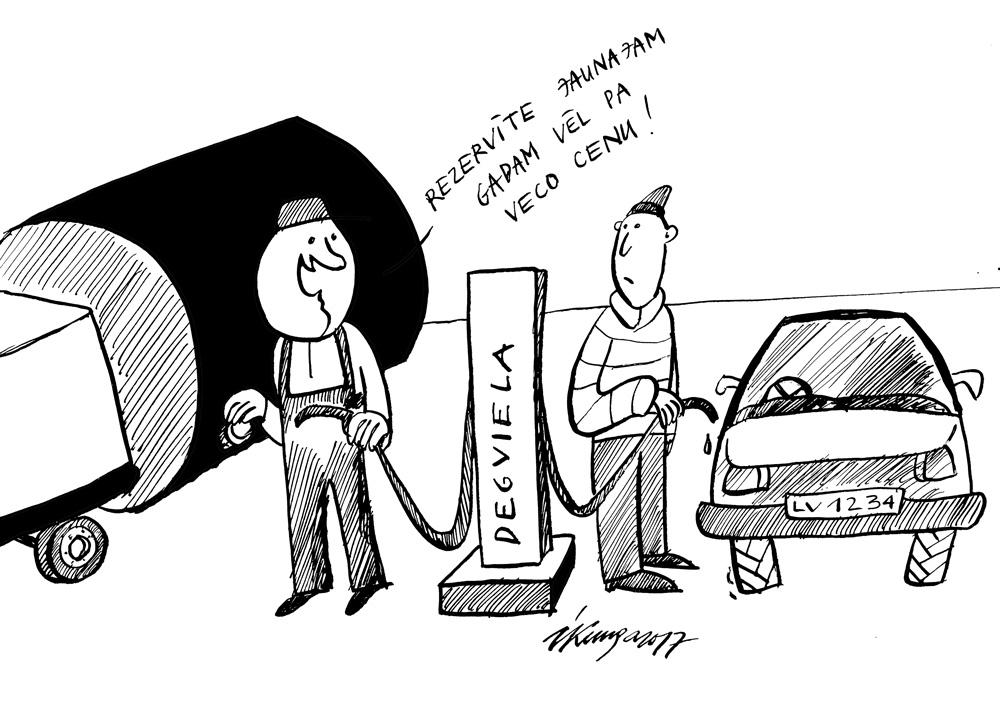 20-12-2017 Jaunais gads ar jaunām degvielas cenām.