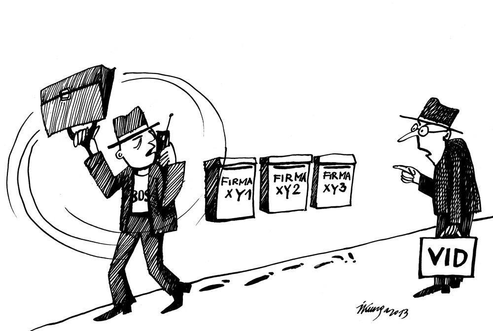 22-07-2013 — VID konstatējis 7000 fiktīvu uzņēmumu.