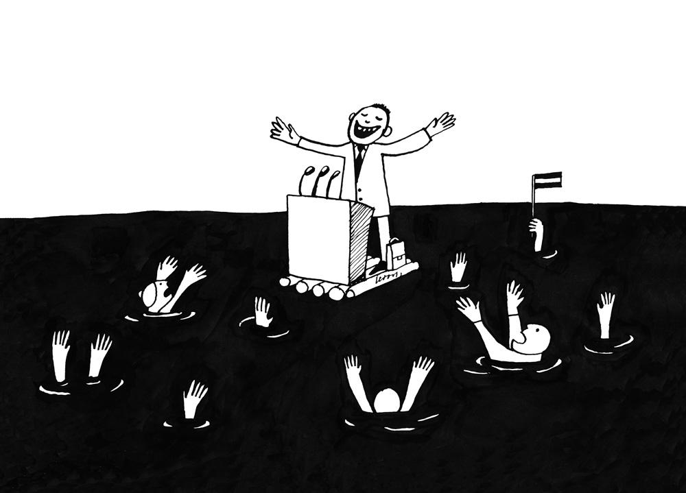 24-01-2011 – Mīļā tauta, esam pārvarējuši krīzes zemāko punktu! – Tad kāpēc mēs grimstam?