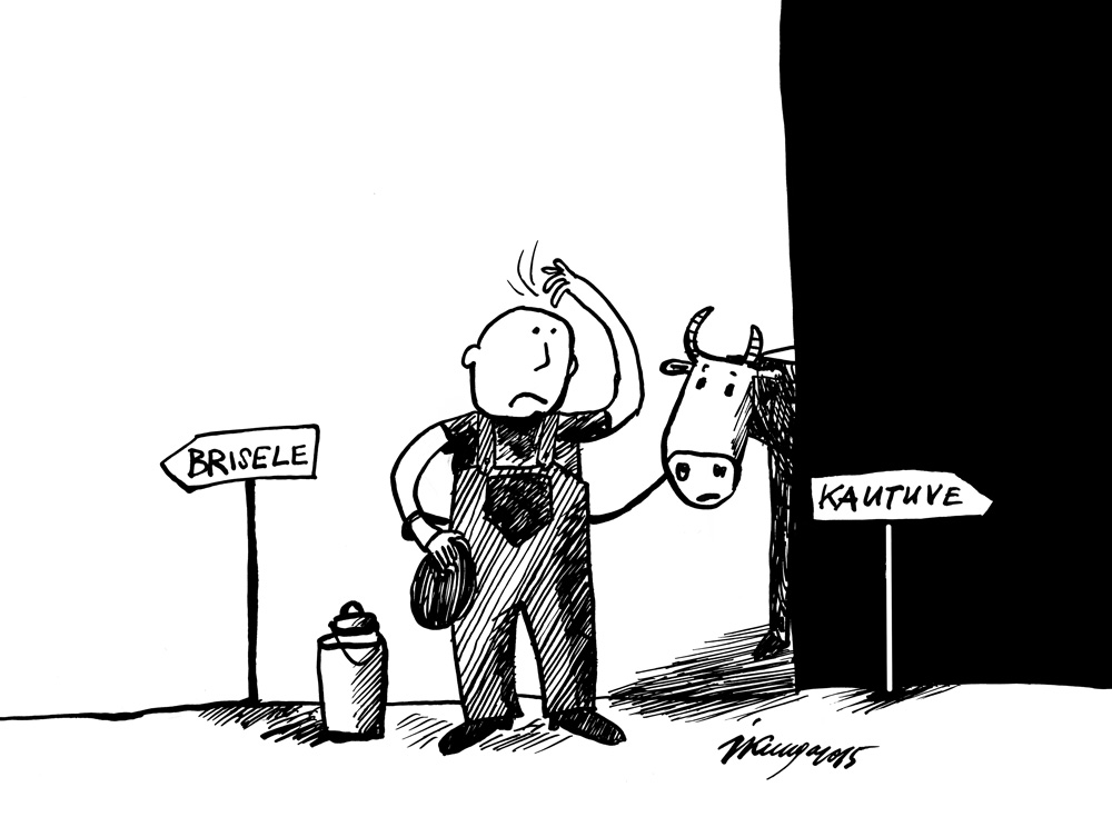 24-08-2015 — Grūti laiki piensaimniekiem — likvidēt vai piketēt!
