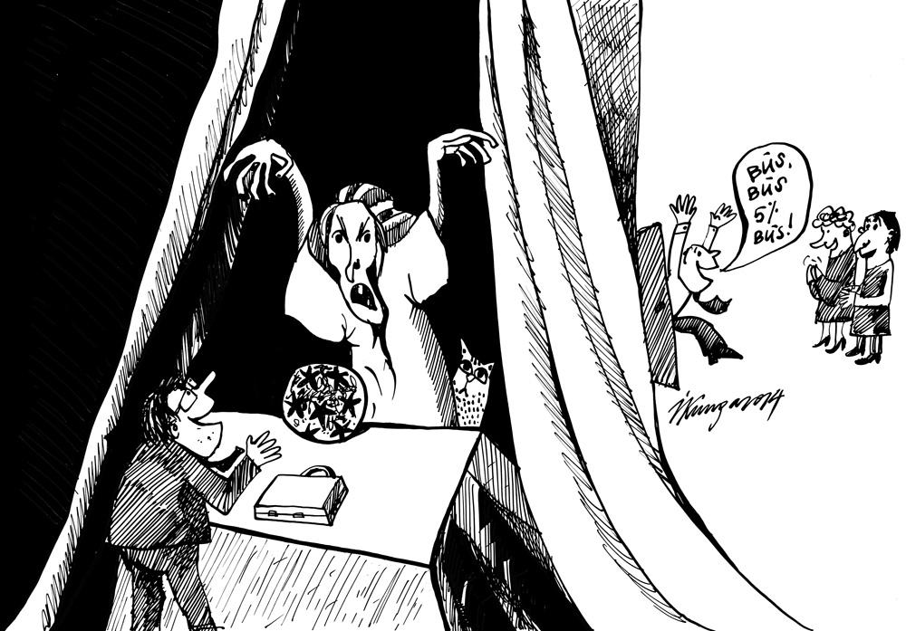 24-09-2014 — Partijas rēķina, štuko un zīlē vēlēšanu iznākumu!