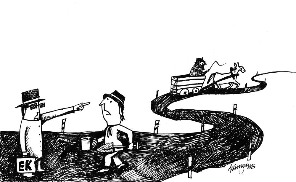 24-10-2013 Eiropas Komisija: - Kam jums naudu ceļiem, ja vēl ar zirgu cauri izbraukt var, tad neko jaunu nevajag!