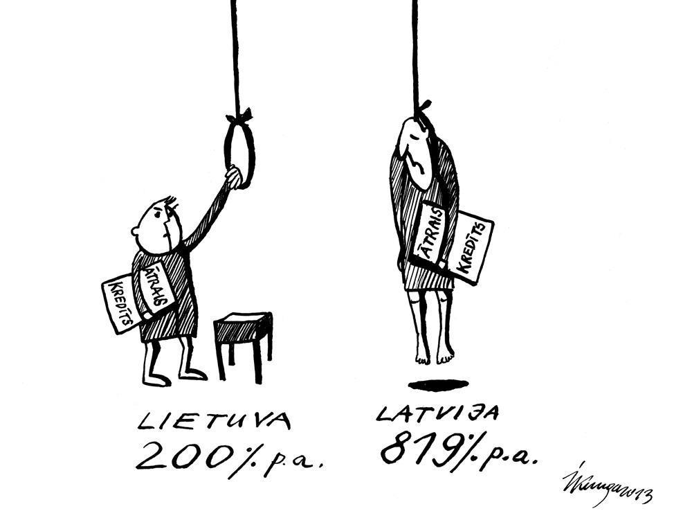 25-02-2013 Latvietis un lietuvietis tūlīt pēc ātrā kredīta saņemšanas.